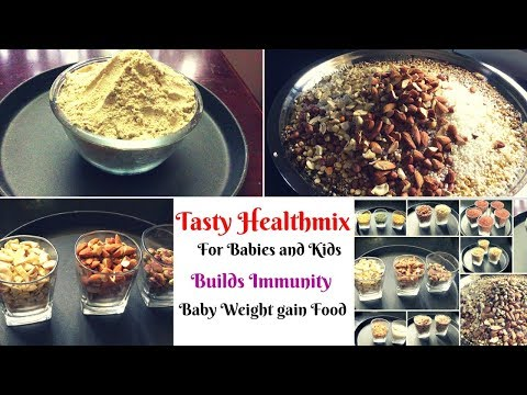 Tasty Health mix for Babies and  Kids - Immunity Booster - Baby Weight gain food