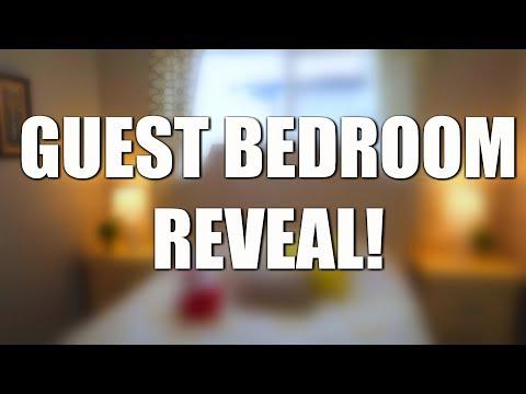 SURPRISE GUEST BEDROOM MAKEOVER!