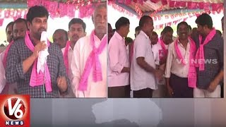 MP Balka Suman Participates In Singareni Election Campaign | Mancherial | V6 News