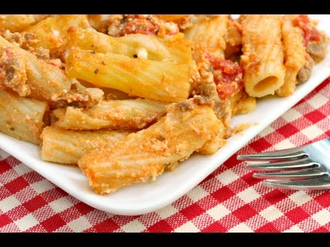 How to Make Baked Ziti -- The Frugal Chef
