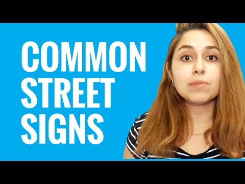 Ask an Arabic Teacher - What Are Some Common Street Signs in the Arab World?