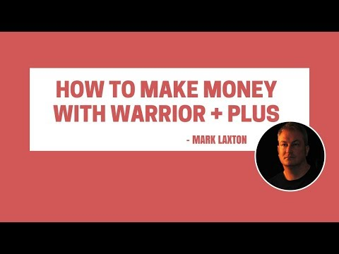 How To Make Money With Warrior Plus - How To Find The Best Products To Promote On Warrior + Plus