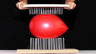 10 AWESOME BALLOON TRICKS! #1 (Will burst?)