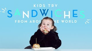 Sandwiches Around The World | Kids Try | HiHo Kids