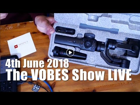 The VOBES Show   WAS LIVE Monday 4th June 2018