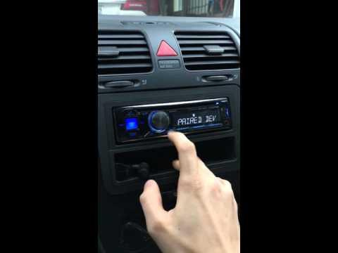 Alpine radio Bluetooth connection fix
