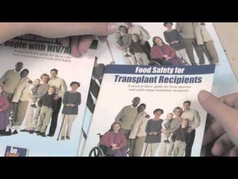 FEATURE -- USDA & FDA RELEASE FOOD SAFETY BROCHURES FOR THOSE AT-RISK
