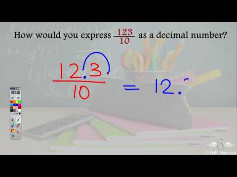 Conversion of fractions to terminating decimals