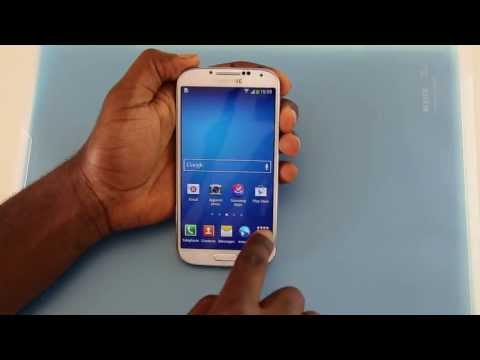 Comment faire une capture d'écran sur un Samsung Galaxy S4