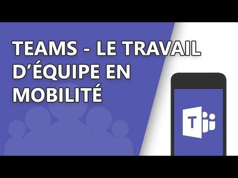 Webinar - Teams - Le travail d'équipe en mobilité