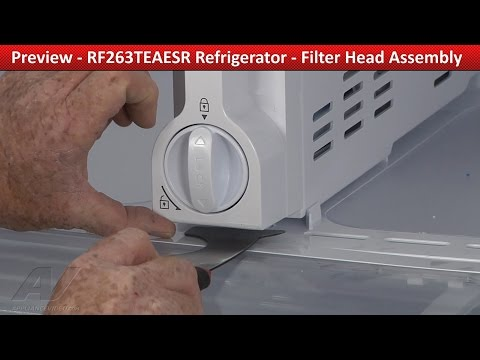 Filter Head Assembly -  Samsung Refrigerator - Repair & Diagnostic