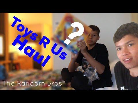 Toys R Us Haul!!! - The Random Bros