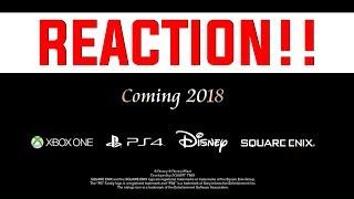 (WARNING) COMING 2018!! KINGDOM HEARTS 3 REACTION!! TOY STORY WORLD!!