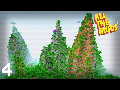 All The Mods 3 | Moving Day & Wind Generators! | E04 (All The Mods 3 Let's Play)