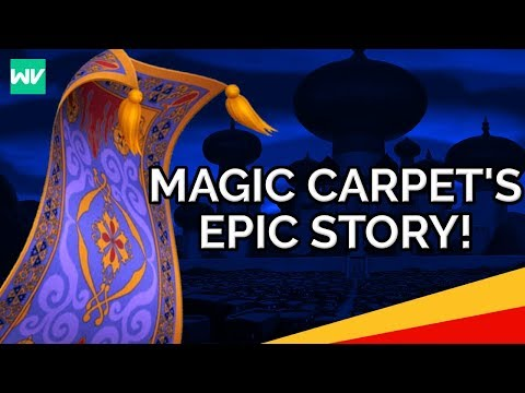 Disney Theory: The Magic Carpet's Epic Story!: Discovering Aladdin