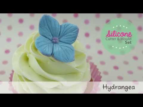 Quick and Easy Icing Hydrangea Tutorial - Blossom Sugar Art
