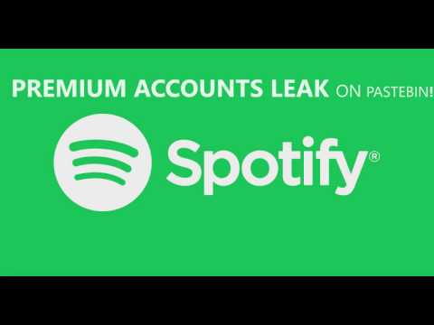 PREMIUM SPOTIFY ACCOUNTS LEAK, NO SMS, ON PASTEBIN FROM 06 MARCH 2017! FREE!