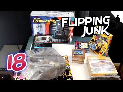 Flipping Junk - 18 - Buy Low and Sell High on Ebay and Amazon For the Win