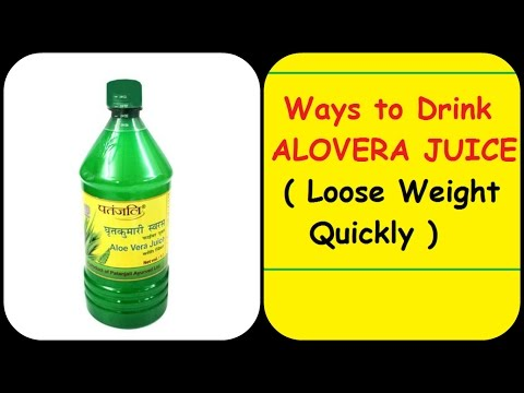 Ways to Drink Patanjali Alovera Juice & Lose weight