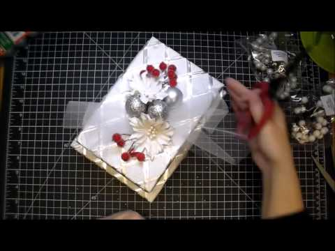 Designer Project - Christmas Gift Box Wraping with Corene