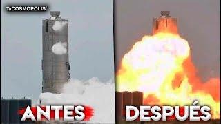 EXPLOTA COHETE de SPACEX en TEXAS