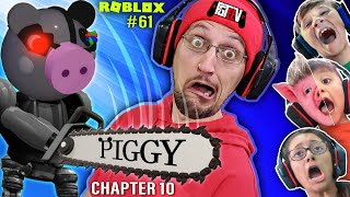 ROBLOX PIGGY @ the MALL!  Chapter 10 FGTeeV Multiplayer Escape (The Secret is Out)
