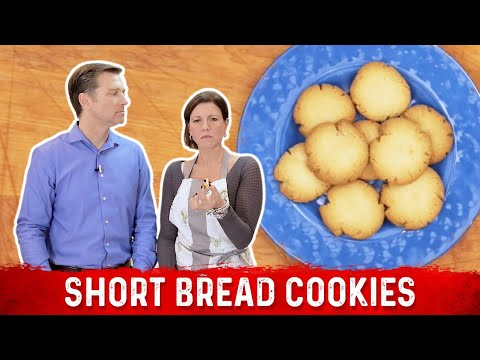 Amazing Short Bread Cookies: Low Carb & Keto Friendly