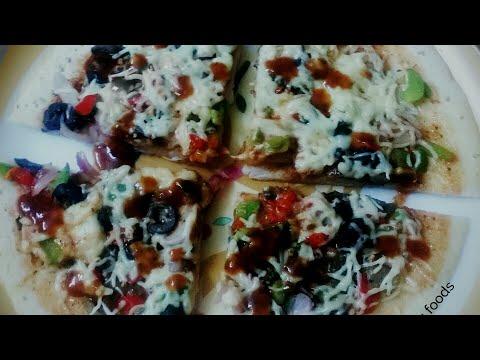Making Different Indian style of pizza/ नये तरीके से बनाये पीझा /અલગ પ્રકારના પીઝા બનાવવા ની રીત/