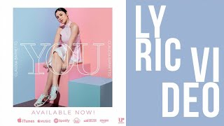 Claudia Barretto - YOU (Official Lyric Video)