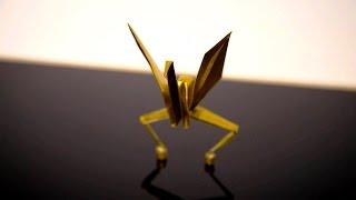 Origami Line Dancers