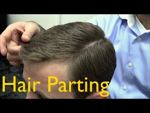 ✄ Barber Tutorials 2 - Cutting and Styling: Parting