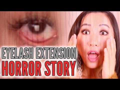 My Eyelash Extension Horror Story! OMG!