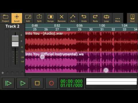 How To Make Acapella on android using Audio Evolution Mobile DAW v2.2.7!