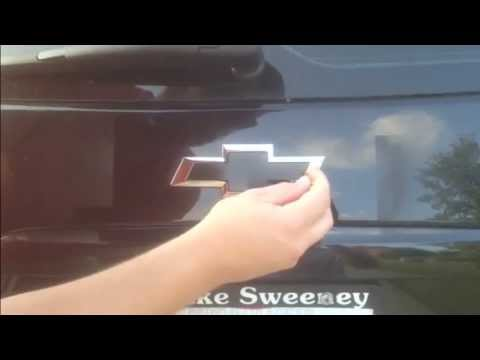 How to Plasti Dip a car emblem