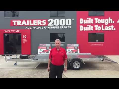 Galvanized Car Trailers by Trailers 2000