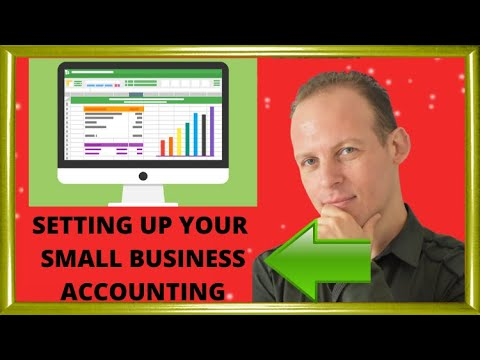 How to set up the accounting books for your small business