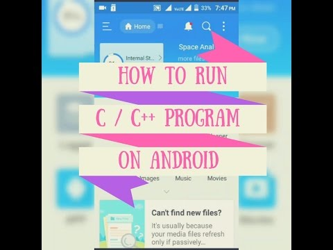 How to Compile and Run C/ C++ program on Android Mobile [Without internet/Offline] 2017