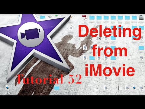 Deleting Videos and Freeing Space in iMovie 10.0.5 | Tutorial 52
