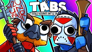 TABS Funny Moments - Protester Vanoss VS Delirious Army! (Totally Accurate Battle Simulator)