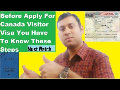 Must Watch (Before Apply For Canada Visitor Visa)