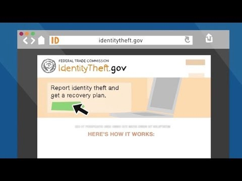 IdentityTheft.gov Helps You Report and Recover from Identity Theft | Federal Trade Commission