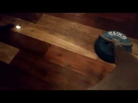 Intense cleaning of Plank vinyl flooring - C&S Cleaning Services,LLC