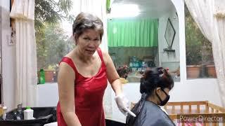 PAANO MAG #HAIRCOLOR// HAIR DYE TUTORIAL//#MONDES PRODUCTS //#BOTANIQUE //#SEMON #33