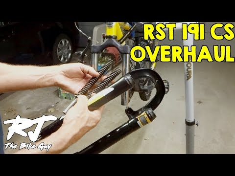How To Disassemble/Clean/Lube/Re-assemble RST 191 CS Forks/Shocks