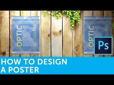 How To Design A Poster In Adobe Photoshop | Solopress Tutorial