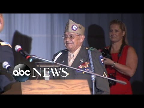 Vets Get Diplomas Years After War Interrupted Their Education