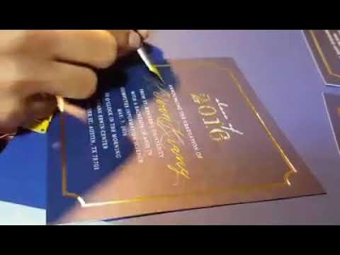 Hand Writing Graduation Invitations