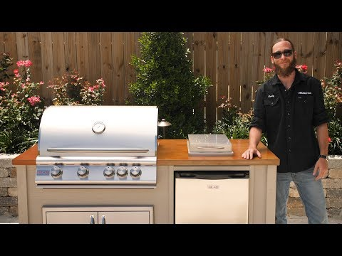 BBQGuys.com Outdoor Barbecue Islands | Easy Setup Outdoor Kitchen Kit
