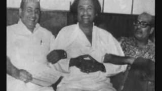 Manna Dey, Mohd. Rafi and Kishore Kumar  -  ** Very Very Rare Song **