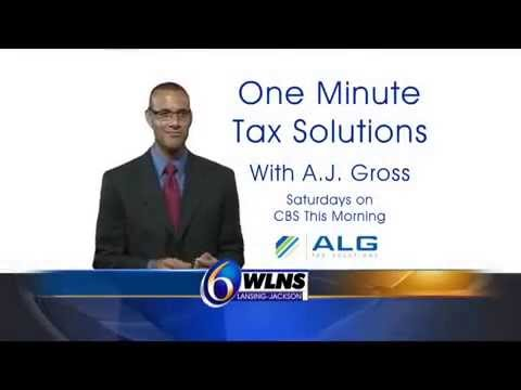 ALG Tax Solutions - WLNS Saturday Mornings